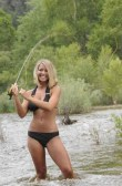 The girl can cast!