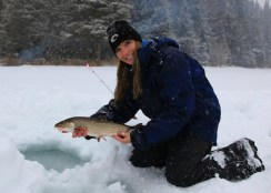 Rebekka Redd Ice Fishing