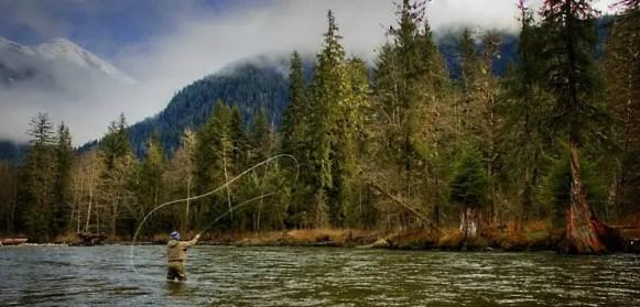 Steve Perih flyfishing