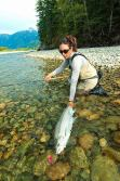 April Vokey Big Steelhead Girl