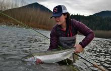 Catherine Laflamme Steelhead Girl