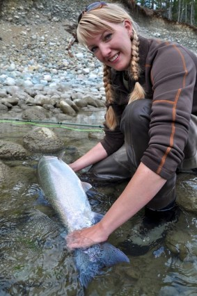 Kara Knight steelhead