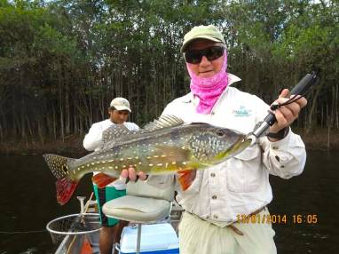 Mike Green peacock bass fishing Brazil