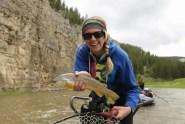 Tracy Moore fishing