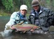 Dawn Chou fishing