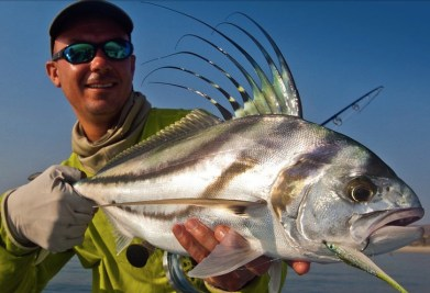 Roosterfish, Baja Mexico - flyfishing