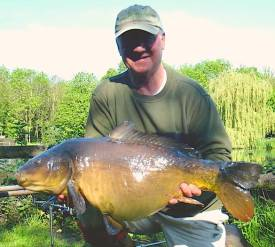 Mike Green 24lb mirror carp