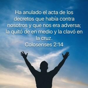 Colosenses 2.14