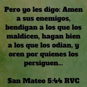 Mateo 5.44