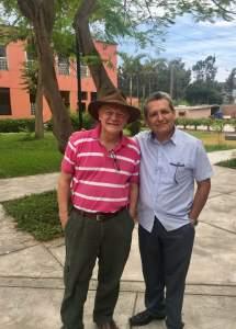 Con Samuel Pagán