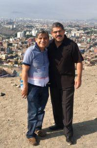 Con el Obispo Alvino