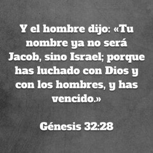 Génesis 32.28