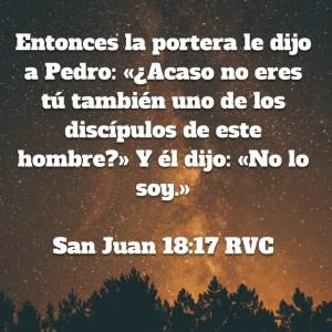 Juan 18.17