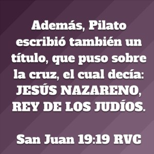 Juan 19.19