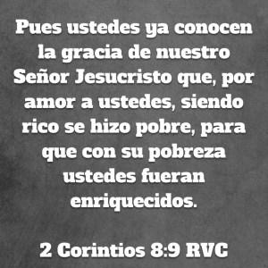 2 Corintios 8.9