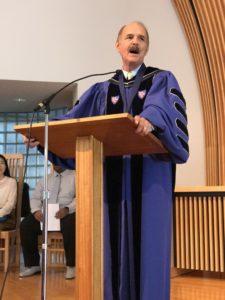 Dr. Hollinger, GCTS President