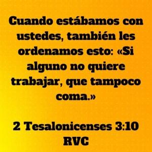 2 Tesalonicenses 3.10