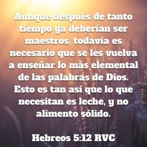 Hebreos 5.12