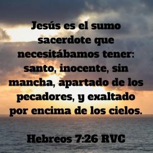 Hebreos 7.26
