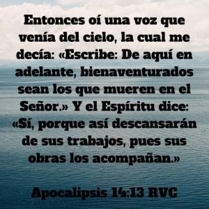 Apocalipsis 14.13