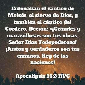 Apocalipsis 15.3