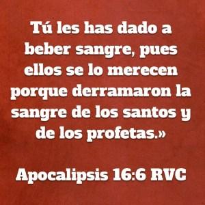 Apocalipsis 16.6