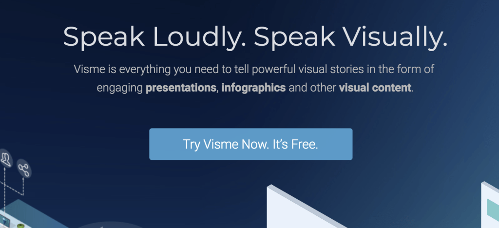 VISME - Free infographic and chart maker