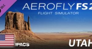 Aerofly FS 2 USA Utah Free Download PC Game