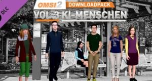 OMSI 2 Add on Downloadpack Vol. 3 KI Menschen Free Download