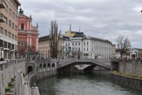 City Centre, Ljubljana, Slovenia