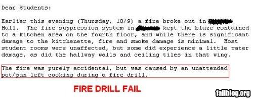 fail-owned-fire-drill-fire-fail