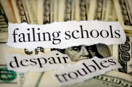 failing schools - Higher Education Problems in America
