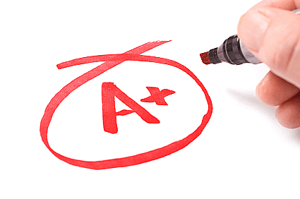 A grade - Help Students Understand the Benefits of Good Grades