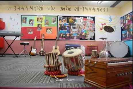 music room 5 - About NES International School Mumbai