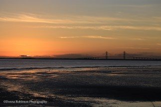 Sunset Over the Sidney LanierBridge