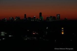 Buckhead, Atlanta Sunrise Settings: AV f/7.1; TV .6, ISO 250; Focal length 220mm