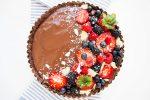 Vegan chocolate tart recipe - Dr. Pingel