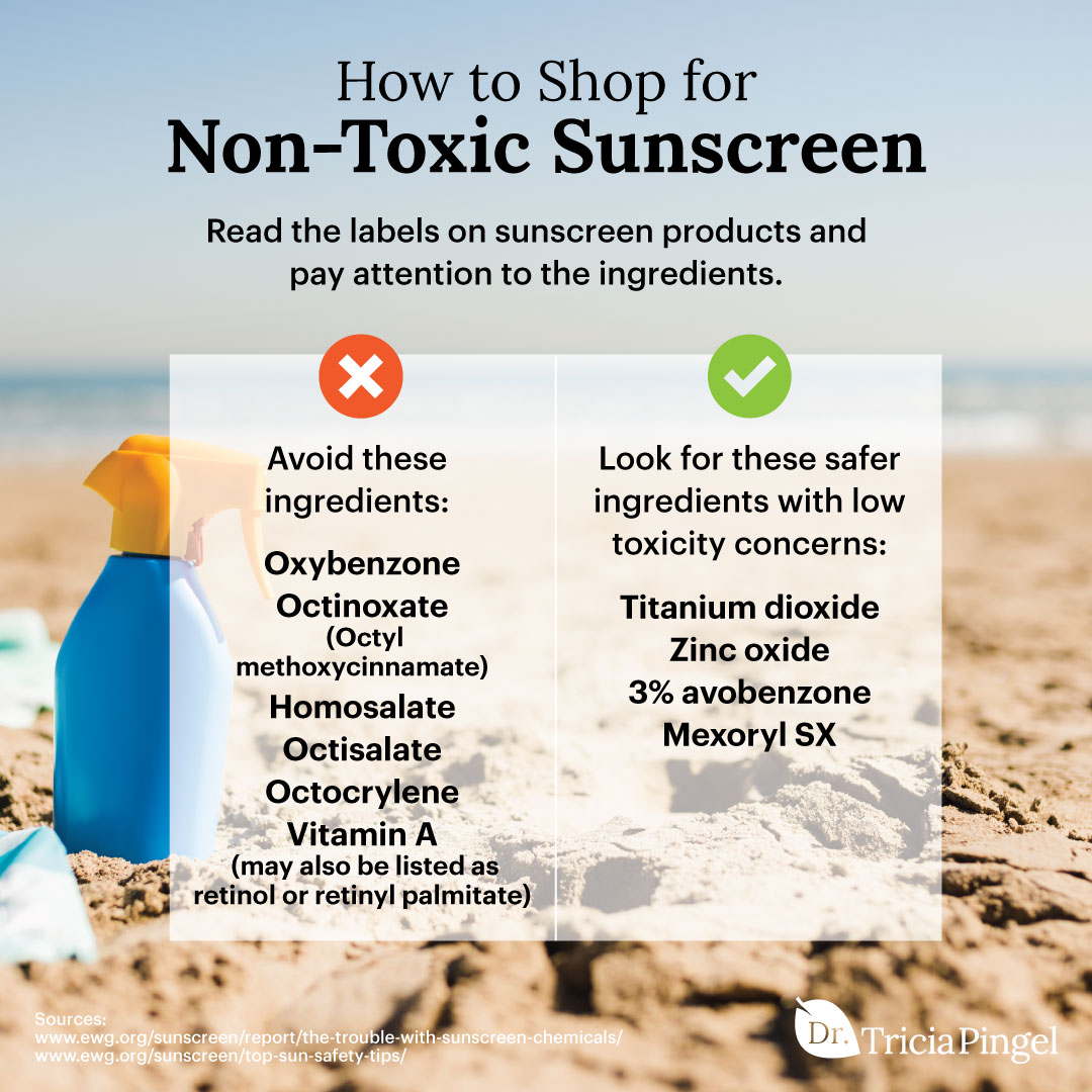 How to shop for non-toxic sunscreen - Dr. Pingel