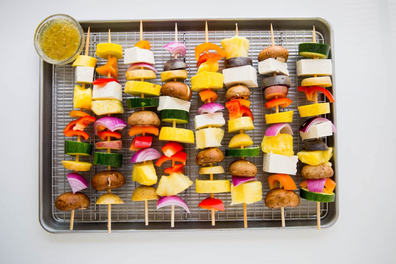 Vegan Shish Kebab - Dr. Pingel