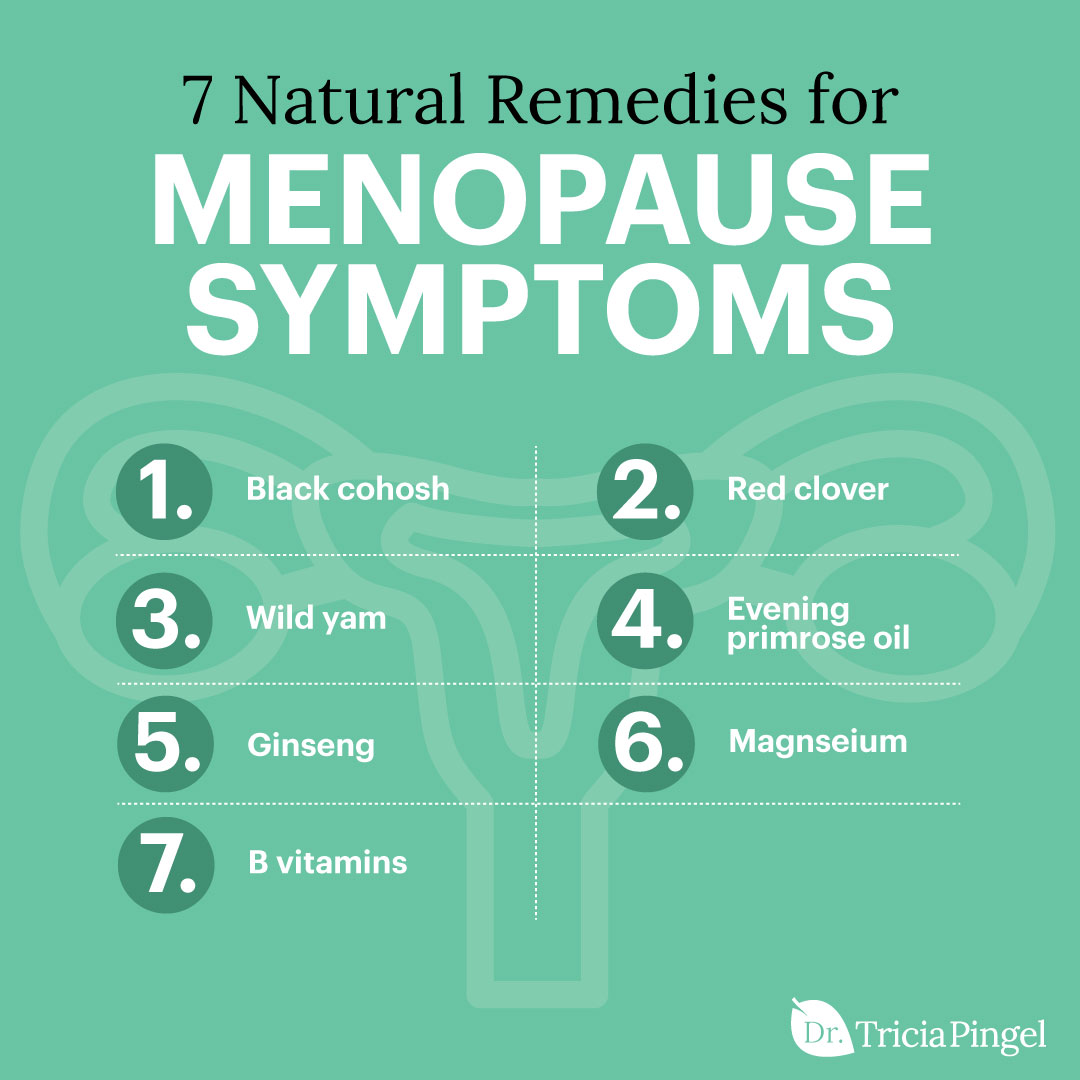 7 natural remedies for menopause symptoms - Dr. Pingel