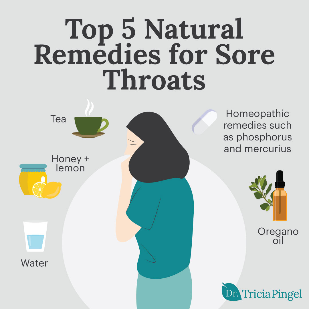 Natural remedies for sore throats - Dr. Pingel