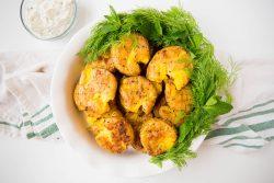 Garlic smashed potatoes - Dr. Pingel