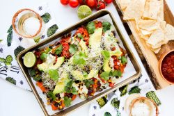 Sweet potato black bean nachos - Dr. Pingel
