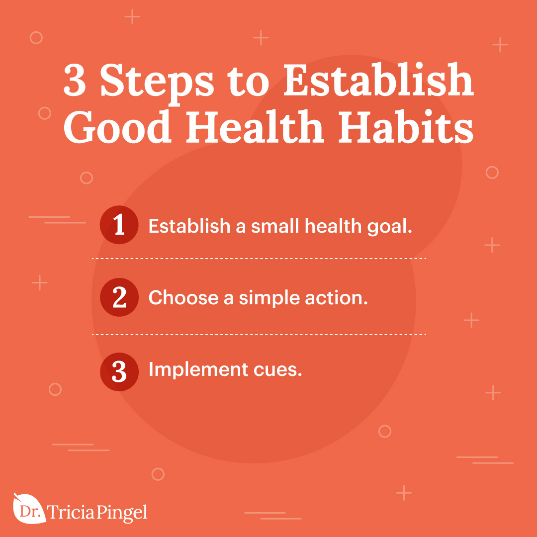 Making new habits stick - Dr. Pingel