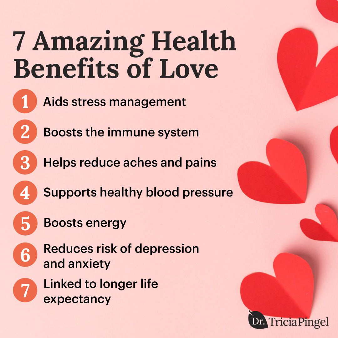 Health benefits of love - Dr. Pingel