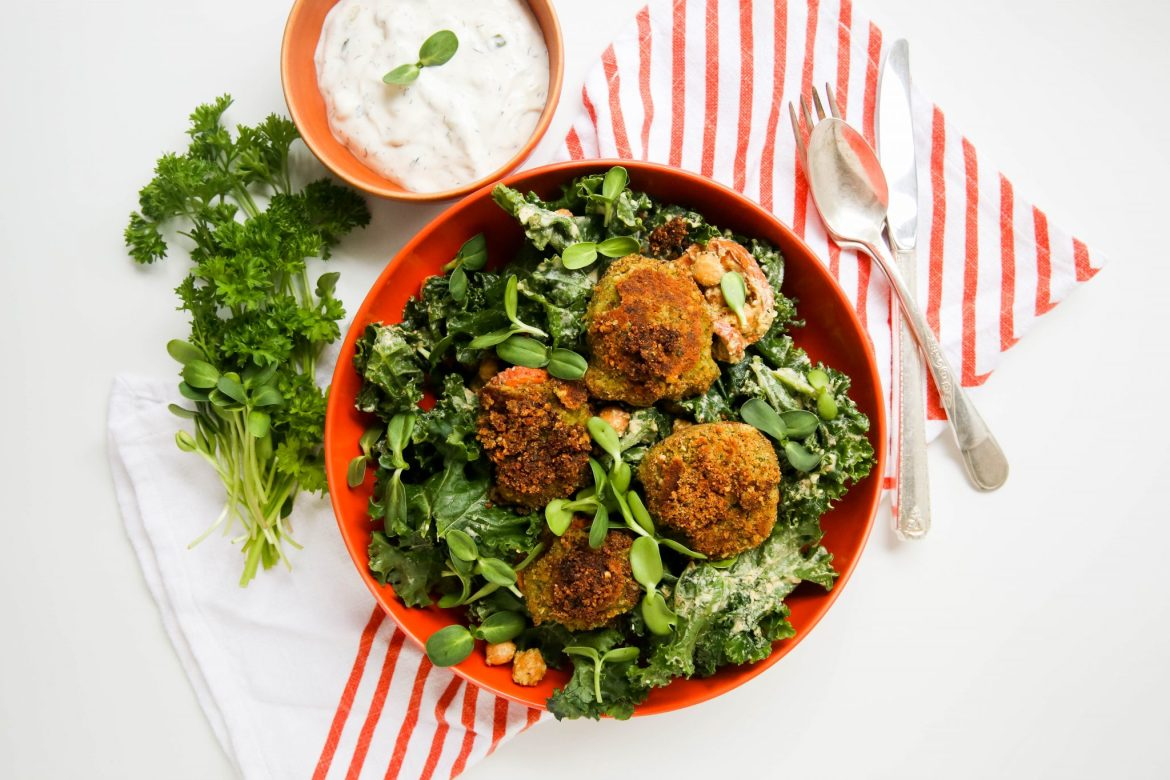 8-Ingredient Falafel with Canned Chickpeas 2