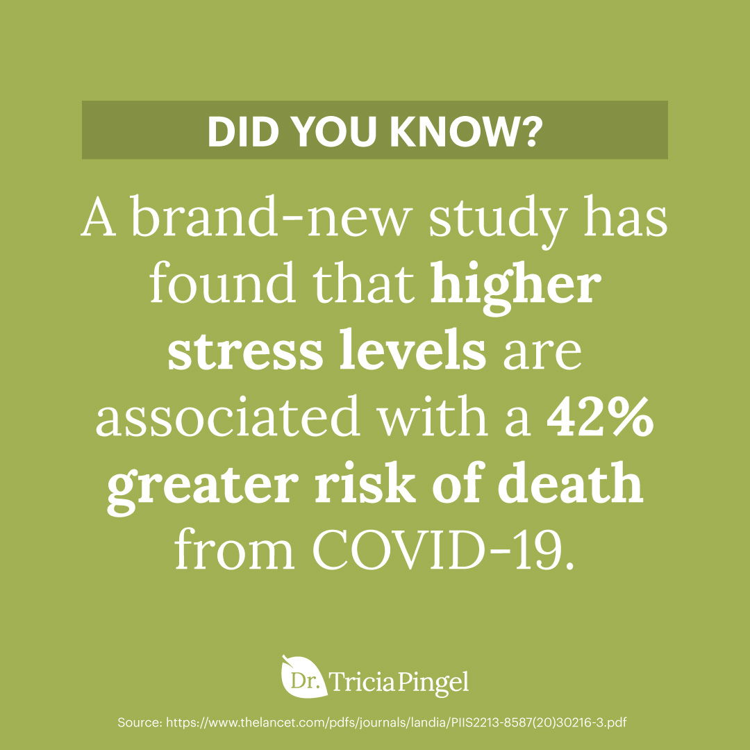 Stress and covid-19 - Dr. Pingel