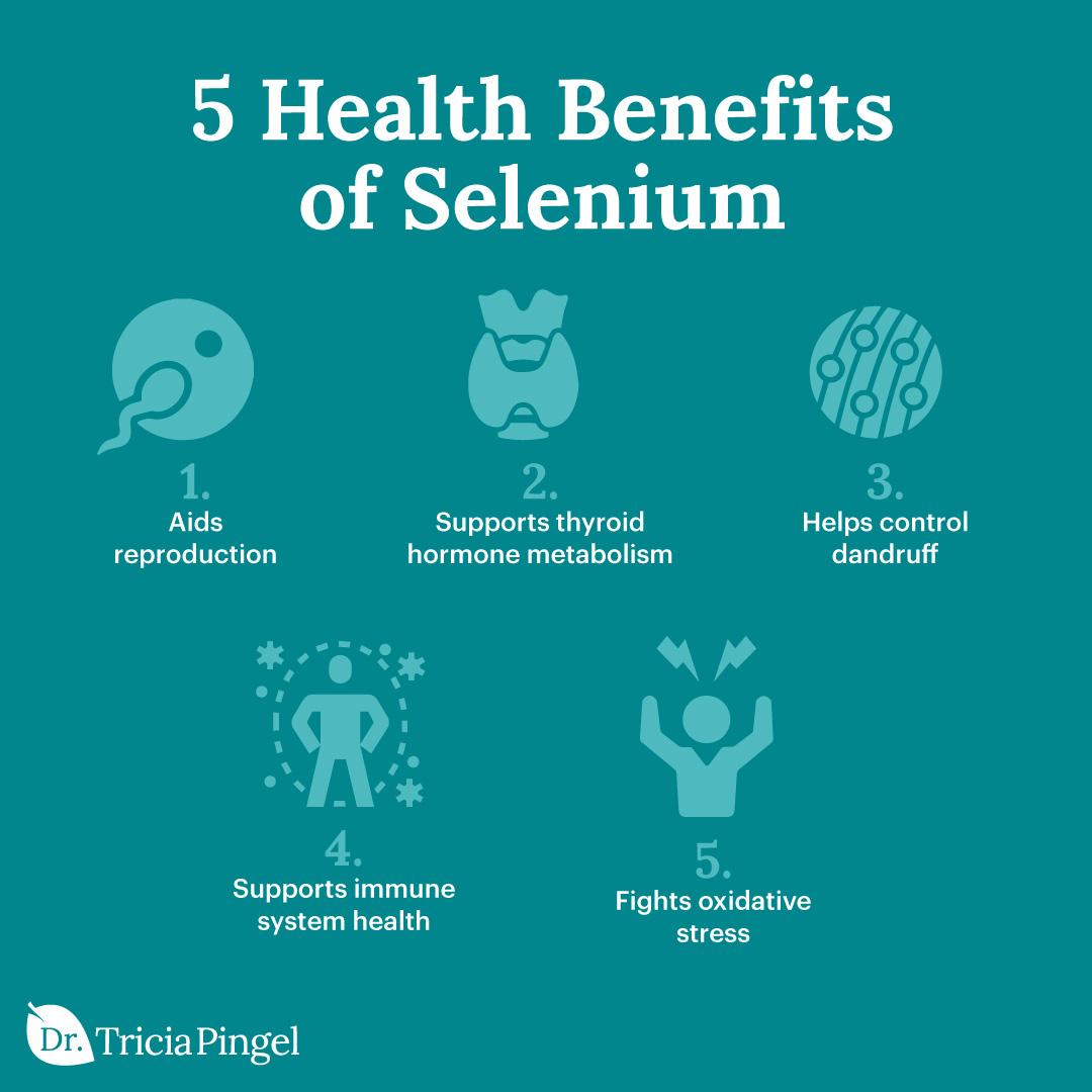 Selenium benefits - Dr. Pingel
