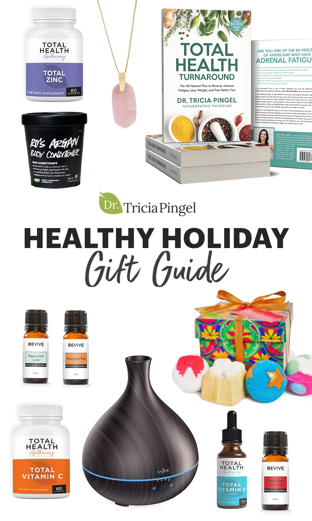 Healthy holiday gifts - Dr. Pingel