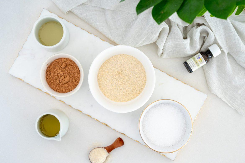 DIY body scrub recipe - Dr. Pingel